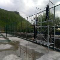 学校球场勾花网厂家 球场用隔离围栏图片