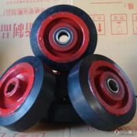 橡胶包胶轮 超耐磨橡胶包胶轮 橡胶驱动轮 橡胶传动轮定制