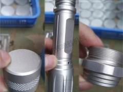 铝制品工件喷砂机为氧化前处理喷砂加工视频