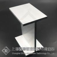 铝合金工字钢开模定制加工工字铝木纹转印一上海至律铝业图片