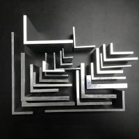 铝合金角钢开模定制加工L型铝合金角铝木纹转印一上海至律铝业图片
