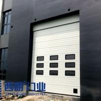 盐城新建工厂使用西朗提升门图片