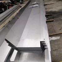 现货304不锈钢槽钢 来图加工不锈钢天沟 屋顶排水槽