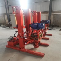 120米降水井钻机 全液压地热空调井钻机零售价格图片