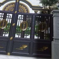 成都锦江区钢艺不锈钢大门栏杆