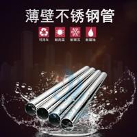 薄壁不锈钢水管_卫生级不锈钢水管_信烨不锈钢给水管生产厂家图片