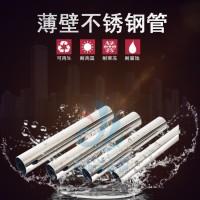 福建信烨不锈钢覆塑管不锈钢冷热水管厂家图片